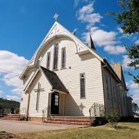 オーストラリア/ブリスベン郊外/セントデイビッツ・アングリカン教会