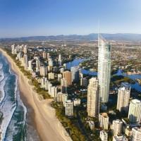 オーストラリア/ゴールドコースト/Q1オーシャンブルー・ウェディング