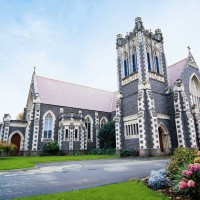 ニュージーランド/クライストチャーチ/セント・ジョン・オブ・ゴッド教会