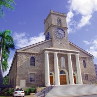 オアフ島/カワイアハオ教会