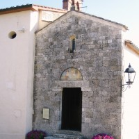 イタリア/シエナ/サンティ・ヴィンチェンツォ教会(ボルゴ・ラ・バニャーイア)