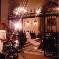 イタリア/フィレンツェ郊外/サンタ・マリア教会