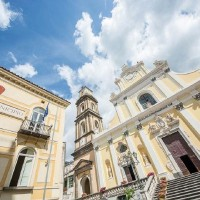 イタリア/アマルフィ/サンタ・トロフィメナ教会