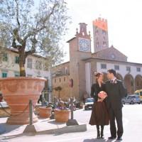 イタリア/フィレンツェ郊外/インプルネッタ市庁舎