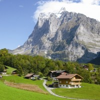スイス/グリンデルワルト/セント・ペトロネッラ・チャペル