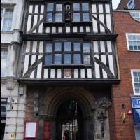 イギリス/ロンドン/セント・バーソロミュー・ザ・グレート教会