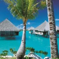 タヒチ/ボラボラ島/セント・レジス・ビーチウェディング