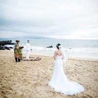 マウイ島/ホワイト・ビーチ・ウエディング