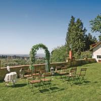 イタリア/フィレンツェ/ヴィラ・エミリア ガーデンウエディング
