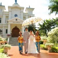 バリ島・インドネシア/バリ島/サント・ミカエル教会
