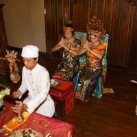 バリ島・インドネシア/バリ島/デウィスリ バリスタイル ウェディング
