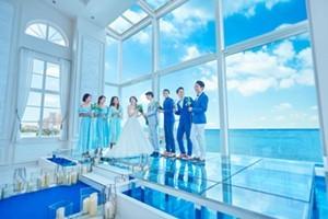 沖縄の絶景をバックに叶うリゾートウエディング<br>