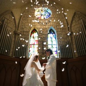【口コミで人気の大聖堂】ドレスが映える♪チャペル体験フェア*