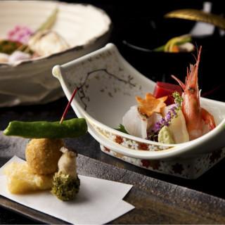 【会席料理¥5,500×6名様までご招待】日本料理「簾」でのお食事券をプレゼント!