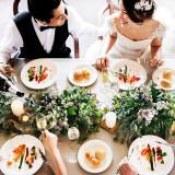 結婚式はゲストへの感謝を伝える特別な日。だからこそ、大切なゲストに召し上がっていただくお料理は、感謝の気持ちをカタチにした「おもてなし」と私たちは考えます。