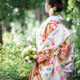 和装は日本人ならでは★和のウエディングにふさわしいパーティールームも♪