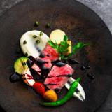 シェフ渾身の創作料理。人気の仙台牛はおもてなしの極み!