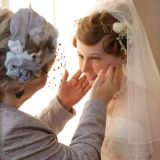 花嫁のお支度を整えるのは母親としての最後の仕事