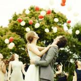 新郎新婦様の幸せが  天まで届きますように・・・