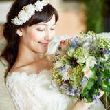 ブーケは花嫁を一層美しくするアイテムのひとつ