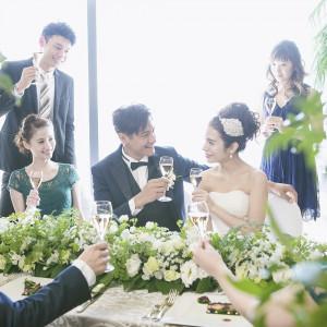 【試食付き】ホテル最上階で過ごす2~40名様までの少人数婚相談会