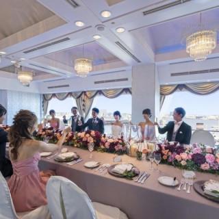 【6~30名で貸切に!】海の見える会場でご家族と贅沢Wフェア