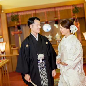 かつらも良いけど、洋髪スタイルも素敵。大きなお花で華やかに|岡山国際ホテルの写真(2215354)