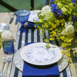 テーブルセッティング イメージ|ルネッサンス・リベーラ教会(ルネッサンスリゾートオキナワ内)チュチュリゾートウエディングの写真(3666394)