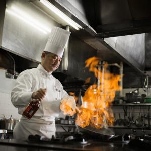 総勢43名の調理人が一皿一皿に込めるまごころで、極上の婚礼料理をご提供します。|盛岡グランドホテルの写真(1546831)