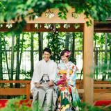 320余年の歴史を今に伝える由緒ある日本庭園。美しい景色の中、思い出に残る写真が撮影できます。