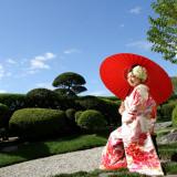 【ロケーションフォトイメージ】最上階に広がる日本庭園は、空も近く感じる贅沢なロケーション。