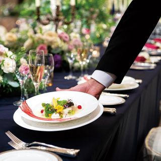 【無料フルコースを披露宴スタイルで試食】おもてなしの味を確認!フランス料理の豪華ウエディングメニュー