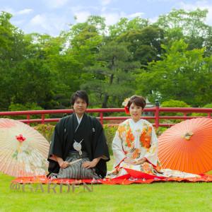 【伝統を感じる日本庭園】ガーデンパレスだから叶う和婚フェア!