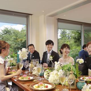 【設立3周年!少人数限定VIP会場】庭園を眺めながらゆったり会食