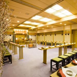 神前式場「錦城殿」 挙式へは40名様ご出席可能です|KKRホテル熊本の写真(1842624)