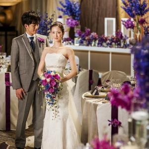 普段とは雰囲気の違う新婦様の姿に新郎様も惚れ惚れ|KKRホテル熊本の写真(1842825)