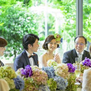 【ゲストも大満足】家族婚&少人数パーティ相談会〈試食付〉☆☆