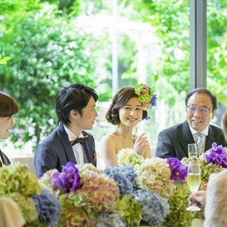 火曜限定【ゲストも大満足】家族婚&少人数パーティ〈試食付〉