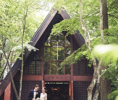 【軽井沢高原教会】大正10年から幸せの歴史を紡ぐ、軽井沢を代表する教会