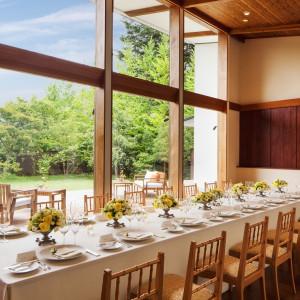 【湯川ガーデンテラス】ゲストと特別な時を過ごす、貸切りガーデンレストラン|軽井沢高原教会の写真(1504377)