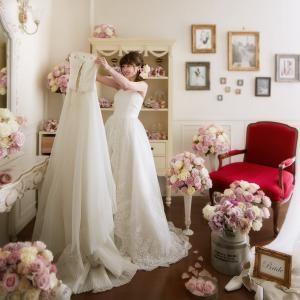 ≪華やかフレンチ試食付≫プレ花嫁必見♪*。最新ドレス見学会