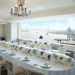 ★家族会食★ ホテルで優雅な家族会食を プライベートウェディング