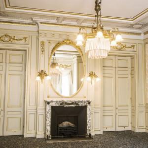 各部屋ごとに異なるシャンデリア。|「高輪 貴賓館」 グランドプリンスホテル高輪の写真(822179)
