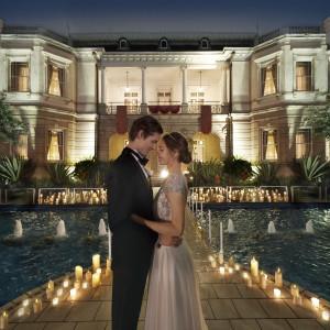 夜景を楽しむ大人のウエディング|高輪 貴賓館(グランドプリンスホテル高輪)の写真(3817050)