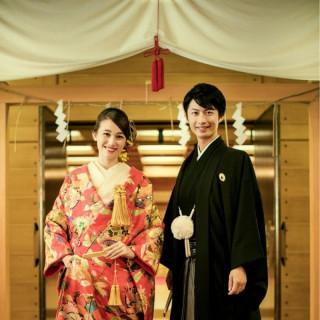 【和婚希望の方必見!!】和装試着×自慢の神殿見学×コース試食