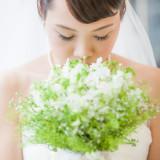 花嫁さまのイメージに合わせたブーケがより一層魅力を引き立てます。