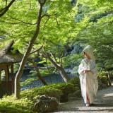 約1万坪の日本庭園で想い出に残るフォトを