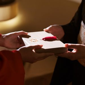 言葉を紡ぐ、想いを記す。「手紙箱」で贈る大切にしたためた手紙|八芳園の写真(3173290)