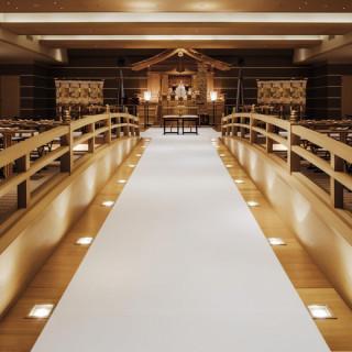 太鼓橋の神殿で模擬挙式×料理長おすすめ無料試食×伝統ある名園