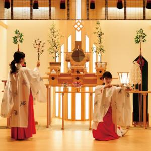 ホテルマリターレ創世は、約30年間に渉りお二人のお名前を伊勢神宮に持参し、奉納しております。|ホテルマリターレ創世 佐賀の写真(637345)